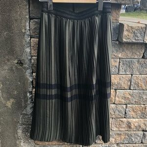 NWOT Zara Pleated Skirt